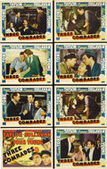 "Movie Posters:Drama, Three Comrades (MGM, 1938). Lobby Card Set of 8 (11"" X 14""). RobertTaylor, Franchot Tone and Robert Young star as three Wor... (Total:8 Items)"