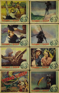 """Movie Posters:Documentary, Titans of the Deep (Grand National, 1938). Lobby Card Set of 8 (11"""" X 14""""). Prominent scientists Dr. William Beebe and Otis ... (Total: 8 Items)"""