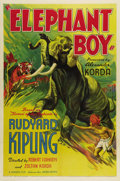 "Movie Posters:Adventure, Elephant Boy (United Artists, 1937). One Sheet (27"" X 41""). In the1940s and 1950s, Sabu was one of the most prosperous acto...(Total: 251 Items)"
