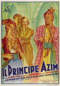 "Movie Posters:Adventure, The Drum (London Film, 1938). Italian One Sheet (28"" X 39""). Set inIndia during British occupation, the film stars Sabu as ..."