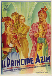 "The Drum (London Film, 1938). Italian One Sheet (28"" X 39""). Set in India during British occupation, the film..."
