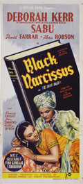 "Movie Posters:Drama, Black Narcissus (Carlton International Media, 1947). AustralianDaybill (13"" X 30""). Deborah Kerr stars as an Anglican nun i..."