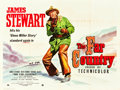 """Movie Posters:Western, The Far Country (Universal International, 1955). British Quad (30"""" X 40""""). Western.. ..."""