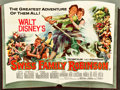 "Movie Posters:Adventure, Swiss Family Robinson (Buena Vista, 1960). British Quad (30"" X40"").. ..."