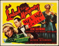 """Movie Posters:Hitchcock, Mr. & Mrs. Smith (RKO, 1941). Title Lobby Card (11"""" X 14"""")....."""