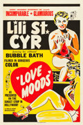 "Movie Posters:Sexploitation, Love Moods (Sonney Amusement Enterprises, 1952). One Sheet (28"" X42.5"").. ..."