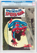 Magazines:Superhero, Spectacular Spider-Man #1 (Marvel, 1968) CGC NM 9.4 Off-white towhite pages....