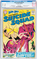 Silver Age (1956-1969):Adventure, The Brave and the Bold #27 Suicide Squad (DC, 1960) CGC VF- 7.5 Off-white pages....