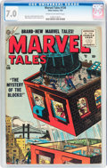 Golden Age (1938-1955):Science Fiction, Marvel Tales #136 (Atlas, 1955) CGC FN/VF 7.0 Cream to off-whitepages....