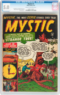 Golden Age (1938-1955):Superhero, Mystic #1 (Atlas, 1951) CGC VG/FN 5.0 Cream to off-white pages....