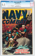 Silver Age (1956-1969):War, Navy Combat #11 (Atlas, 1957) CGC VF+ 8.5 Cream to off-whitepages....