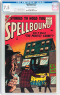 Silver Age (1956-1969):Horror, Spellbound #31 (Atlas, 1956) CGC VF- 7.5 Off-white to whitepages....