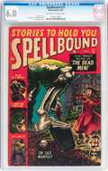 Golden Age (1938-1955):Horror, Spellbound #13 (Atlas, 1953) CGC FN 6.0 Off-white to whitepages....