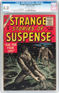 Silver Age (1956-1969):Horror, Strange Stories of Suspense #10 (Atlas, 1956) CGC FN 6.0 Cream tooff-white pages....
