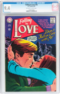 Silver Age (1956-1969):Romance, Falling in Love #93 (DC, 1967) CGC NM 9.4 Off-white to whitepages....