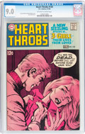 Silver Age (1956-1969):Romance, Heart Throbs #120 (DC, 1969) CGC VF/NM 9.0 Off-white to whitepages....