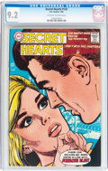 Silver Age (1956-1969):Romance, Secret Hearts #125 (DC, 1968) CGC NM- 9.2 Off-white to whitepages....