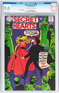 Silver Age (1956-1969):Romance, Secret Hearts #129 (DC, 1968) CGC VF/NM 9.0 Off-white to whitepages....