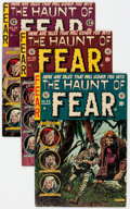 Golden Age (1938-1955):Horror, Haunt of Fear #23, 26, and 28 Group (EC, 1954) Condition: AverageVG+.... (Total: 3 Comic Books)