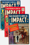 Golden Age (1938-1955):Horror, Impact #1-5 Group (EC, 1955) Condition: Average VG/FN.... (Total: 5Comic Books)