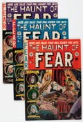 Golden Age (1938-1955):Horror, Haunt of Fear #15, 16, and 21 Group (EC, 1952-53) Condition:Average FN.... (Total: 3 Comic Books)