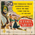 """Movie Posters:Animation, Hansel and Gretel & Other Lot (RKO, 1954). Six Sheet (79"""" X79"""") & One Sheets (5) (27"""" X 41""""). Animation.. ... (Total: 6Items)"""