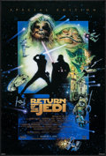 "Movie Posters:Science Fiction, Return of the Jedi & Other Lot (20th Century Fox, 1983). OneSheets (2) (26.75"" X 39.75"" & 27"" X 40"") DS Advance. ScienceFi... (Total: 2 Items)"