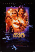 "Movie Posters:Science Fiction, Star Wars (20th Century Fox, R-1997). One Sheet (27"" X 40"") DSAdvance Style B. Science Fiction.. ..."