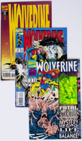 Modern Age (1980-Present):Superhero, Wolverine #73-84 Multiple Copies Long Box Group (Marvel, 1993-94)Condition: Average NM-....