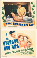 "Movie Posters:Comedy, The Irish in Us (First National, 1935). Title Lobby Card and LobbyCard (11"" X 14"").. ... (Total: 2 Item)"