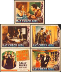 "Movie Posters:Comedy, Hat Check Girl (Fox, 1932). Title Lobby Card and Lobby Cards (4)(11"" X 14"").. ... (Total: 5 Item)"