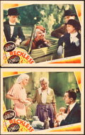 "Movie Posters:Drama, Reckless (MGM, 1935). Lobby Cards (2) (11"" X 14"").. ... (Total: 2Items)"