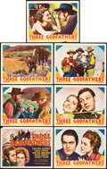 """Movie Posters:Western, Three Godfathers (MGM, 1936). Title Lobby Card and Lobby Cards (6)(11"""" X 14"""").. ... (Total: 7 Items)"""