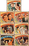 """Movie Posters:Comedy, Prosperity (MGM, 1932). Title Lobby Card and Lobby Cards (6) (11"""" X14"""").. ... (Total: 7 Items)"""