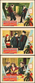 """Movie Posters:Drama, Across to Singapore (MGM, 1928). Lobby Cards (3) (11"""" X 14"""").. ...(Total: 3 Items)"""