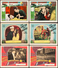 "Movie Posters:Miscellaneous, Joan Crawford Lot (MGM, 1927 and 1928). Lobby Cards (6) (11"" X14"").. ... (Total: 6 Items)"