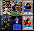 Football Cards:Lots, 1994-2006 Football Running Back Signed Cards Collection (6)....