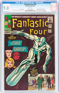 Silver Age (1956-1969):Superhero, Fantastic Four #50 (Marvel, 1966) CGC NM/MT 9.8 White pages....
