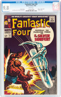 Silver Age (1956-1969):Superhero, Fantastic Four #55 (Marvel, 1966) CGC NM/MT 9.8 White pages....