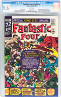 Silver Age (1956-1969):Superhero, Fantastic Four Annual #3 (Marvel, 1965) CGC NM+ 9.6 White pages....