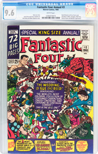 Fantastic Four Annual #3 (Marvel, 1965) CGC NM+ 9.6 White pages