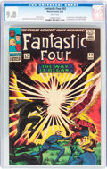Silver Age (1956-1969):Superhero, Fantastic Four #53 (Marvel, 1966) CGC NM/MT 9.8 White pages....