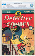 Golden Age (1938-1955):Superhero, Detective Comics #36 (DC, 1940) CBCS Restored FN 6.0 Moderate (P) Off-white pages....