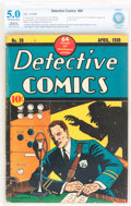 Golden Age (1938-1955):Adventure, Detective Comics #26 Trimmed (DC, 1939) CBCS Restored VG/FN 5.0 Slight to Moderate (A) Off-white to white pages....