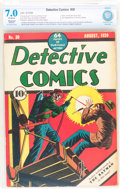 Golden Age (1938-1955):Superhero, Detective Comics #30 (DC, 1939) CBCS Restored FN/VF 7.0 Moderate (A) Off-white pages....