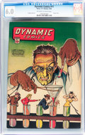 Golden Age (1938-1955):Adventure, Dynamic Comics #11 (Chesler, 1944) CGC FN 6.0 Off-white to white pages....