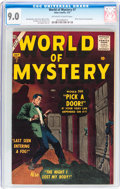 Silver Age (1956-1969):Horror, World of Mystery #7 (Atlas, 1957) CGC VF/NM 9.0 Off-white to whitepages....