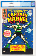 Silver Age (1956-1969):Superhero, Captain Marvel #1 (Marvel, 1968) CGC NM/MT 9.8 White pages....