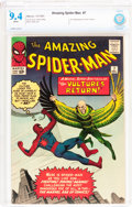 Silver Age (1956-1969):Superhero, The Amazing Spider-Man #7 (Marvel, 1963) CBCS NM 9.4 Whitepages....