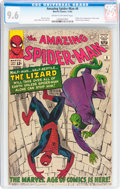 Silver Age (1956-1969):Superhero, The Amazing Spider-Man #6 (Marvel, 1963) CGC NM+ 9.6 Cream tooff-white pages....